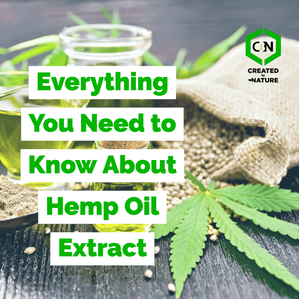Everything you need to know about hemp oil extract-min